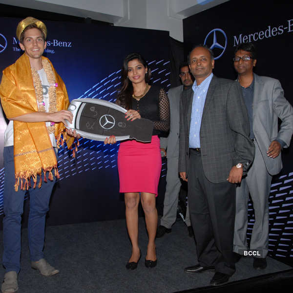 Celebs at Mercedes-Benz's launch