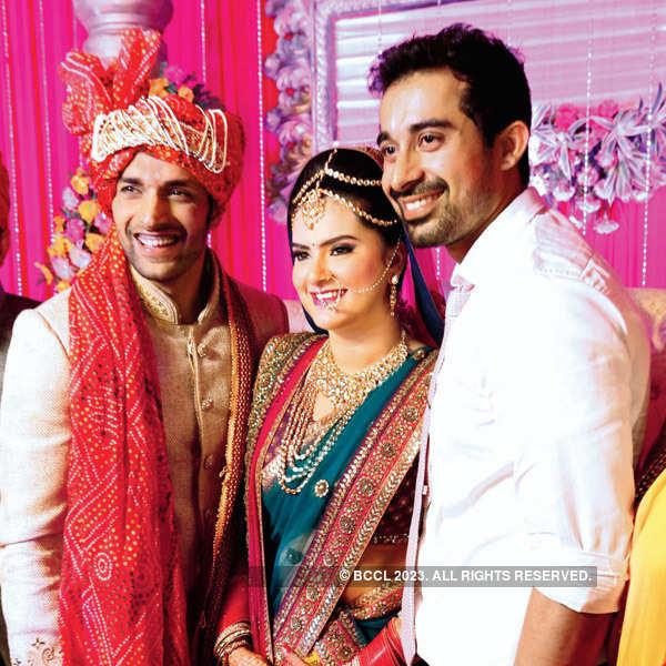 Shaleen Malhotra's wedding party