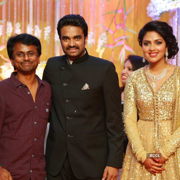 Amala & Vijay's wedding reception