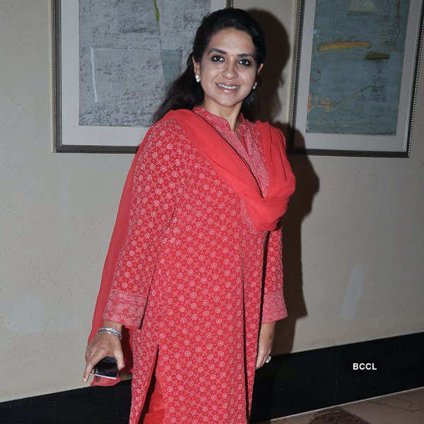 Stars at Shatrughan's party