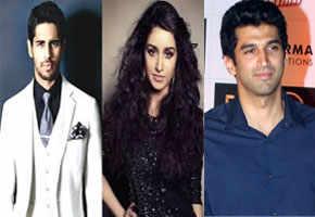 Sidharth Malhotra and Aditya Roy Kapoor fight for Shraddha Kapoor