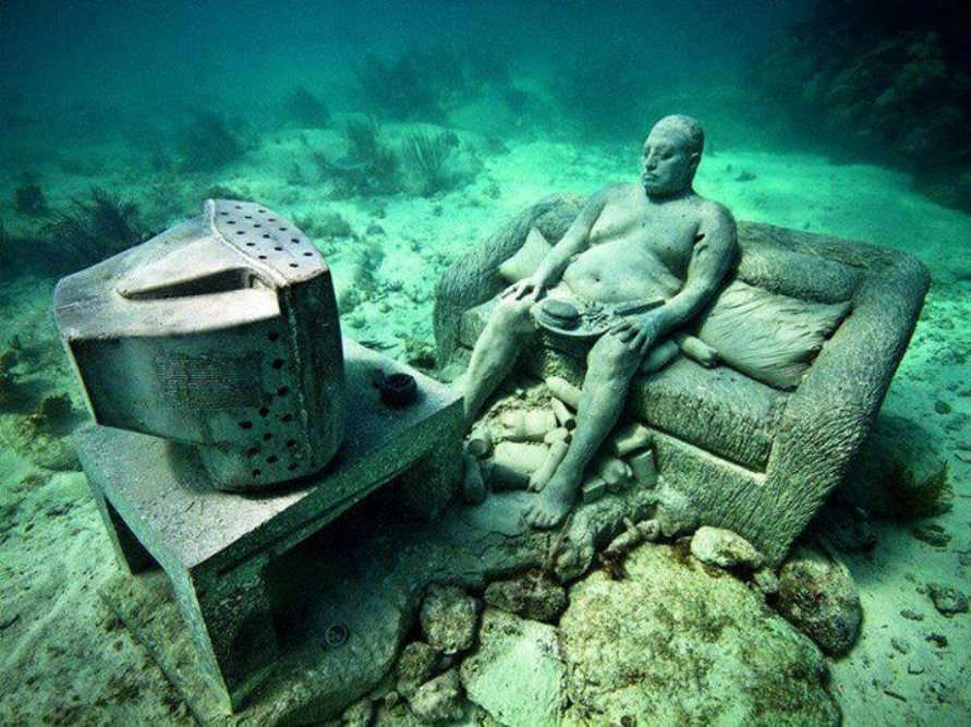 Cancun underwater sculpture museum: MUSA (Museo Subacuático de Arte), Mexico  - Times of India Travel