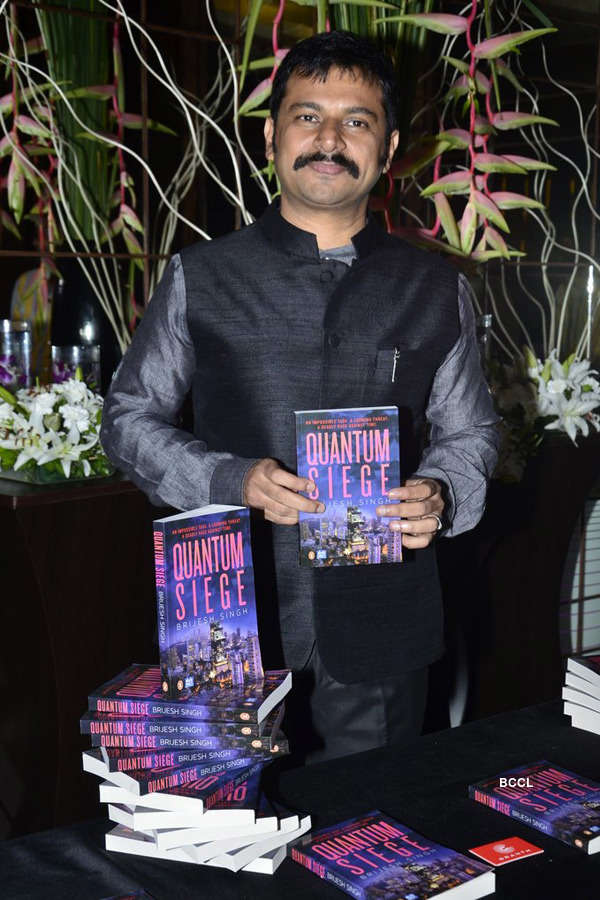 Brijesh Singh's book launch