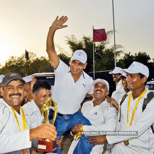 Cricket tournament closing ceremony in Bhopal