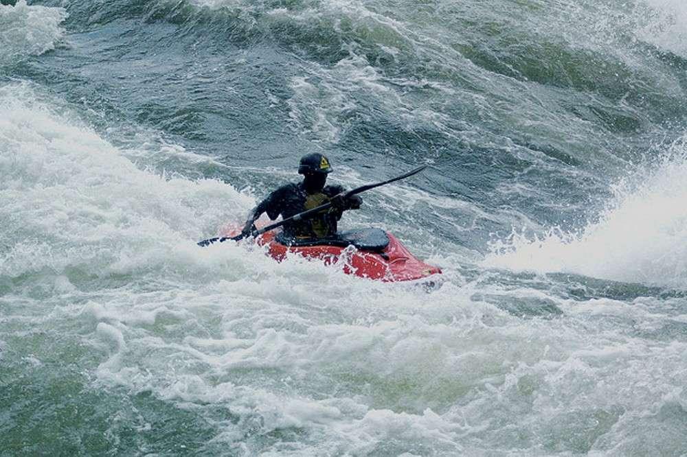 White Nile paddling
