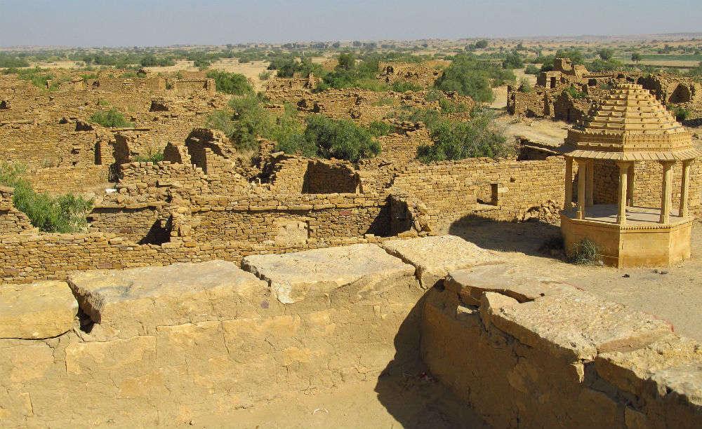 Kuldhara | Haunted village near Jaisalmer | kuldhara village near ...