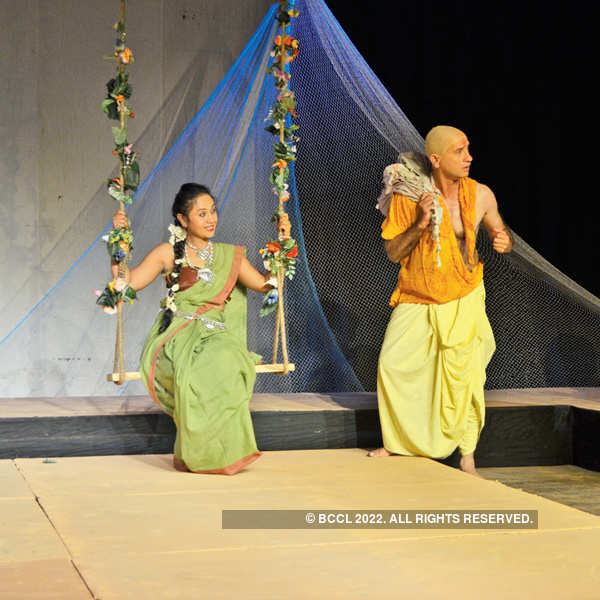 Staging of a mythological play in Bhopal