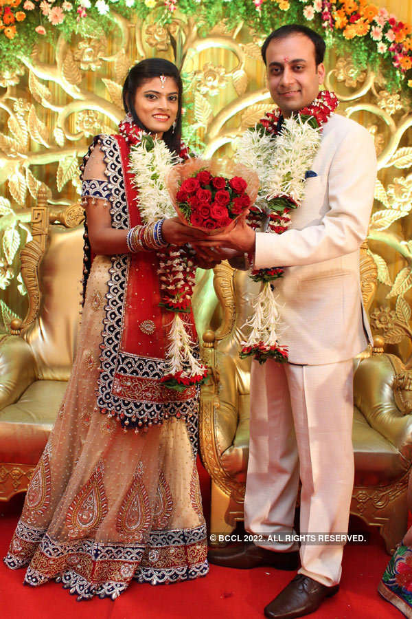 A blessed engagement ceremony
