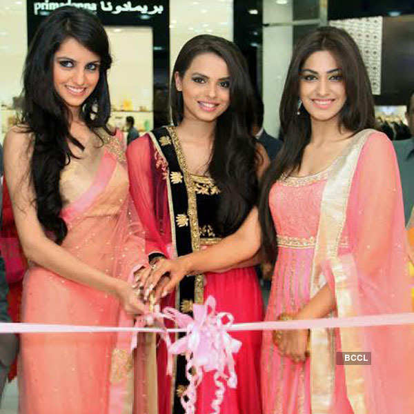 Miss India 2014 winners at Jashn Store launch