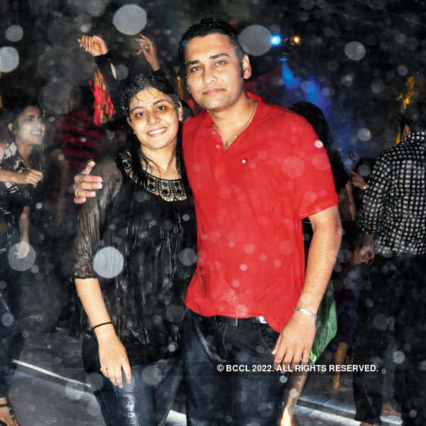 Monsoon ball in Indore