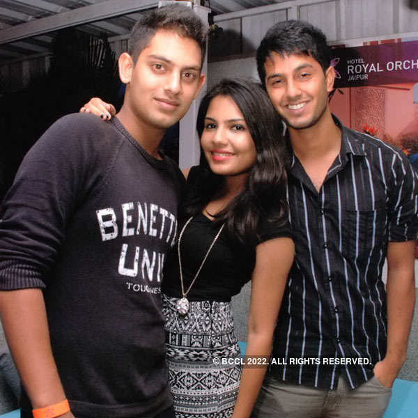 Weekend party at Royal Orchid