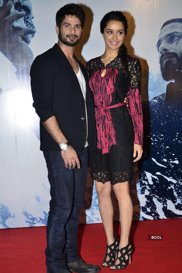 Shraddha & Shahid promote Haider