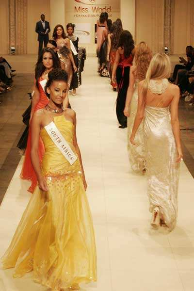 Miss World '08: Fashion show