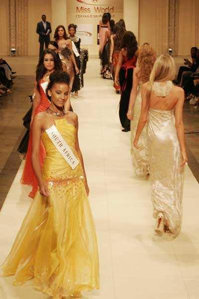 Miss World '08: Fashion show