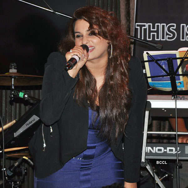 Ankit Tiwari's live concert