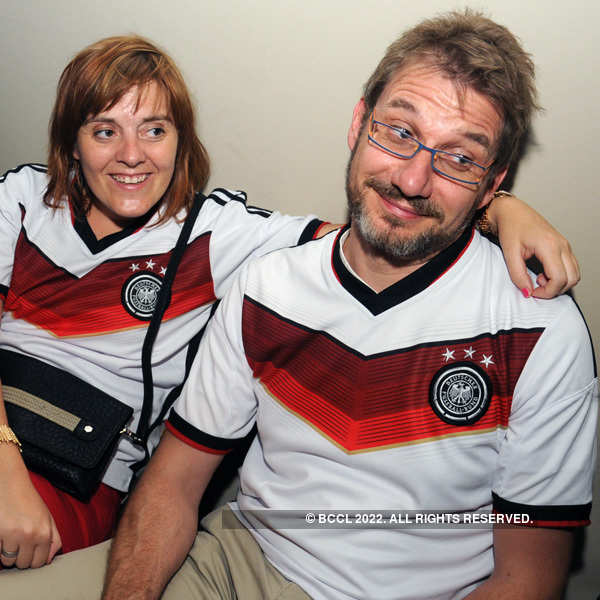 Football World Cup 2014 Final: Screening