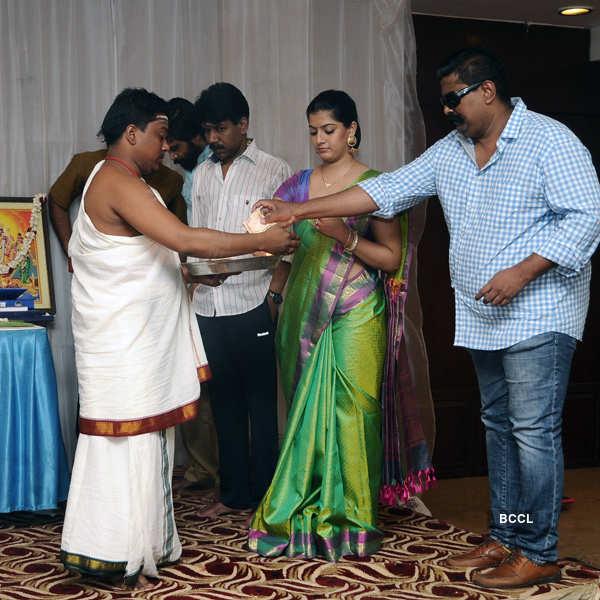 Thaarai Thappattai movie pooja