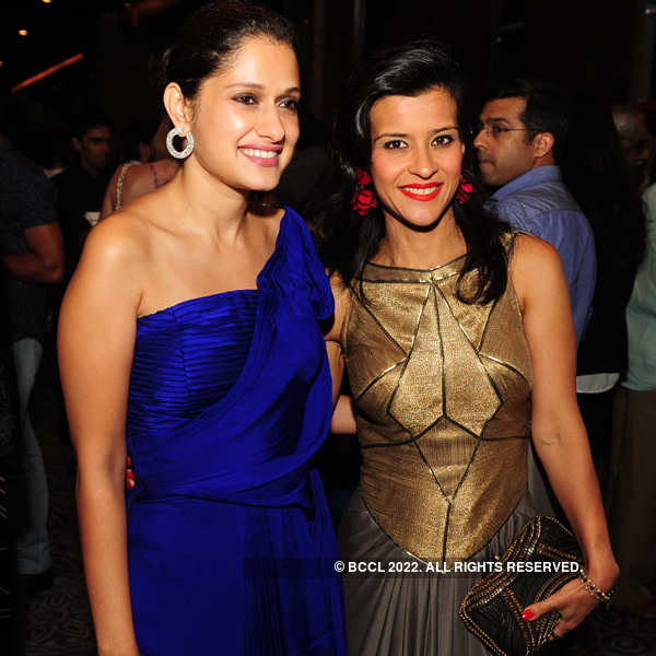 Shantanu and Nikhil's pre & post-show party