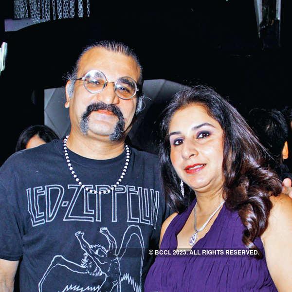 Kajoli Sahgal's b'day party