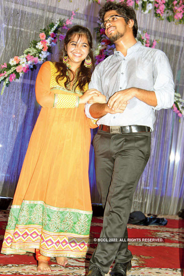 Harsh & Khushboo's engagement ceremony