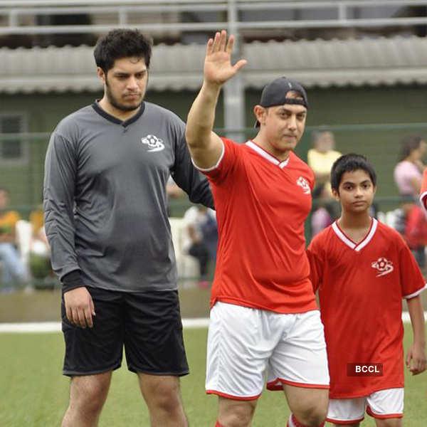 Ira Khan's Charity Soccer Match