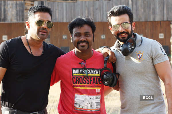 Desi Kattey: On the sets