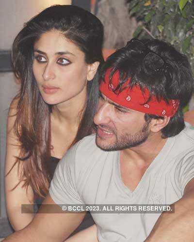 Kareena with Saif