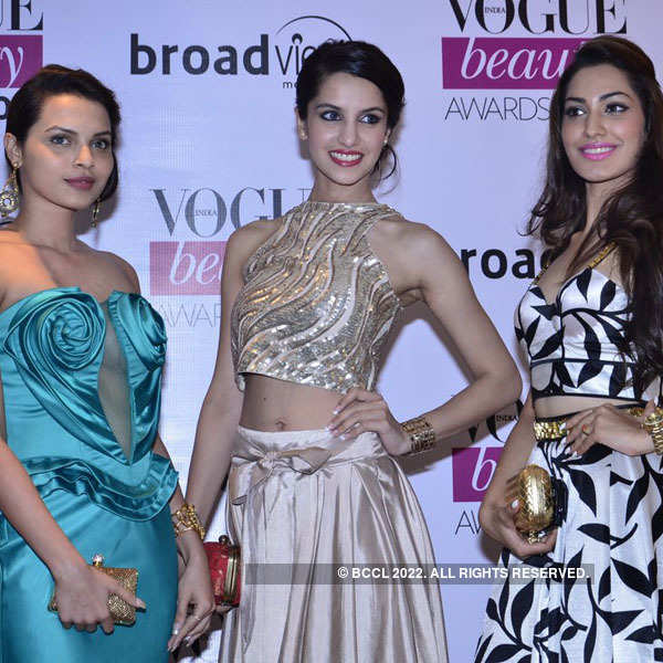 Beauty queens glam up the Vogue Beauty Awards 2014
