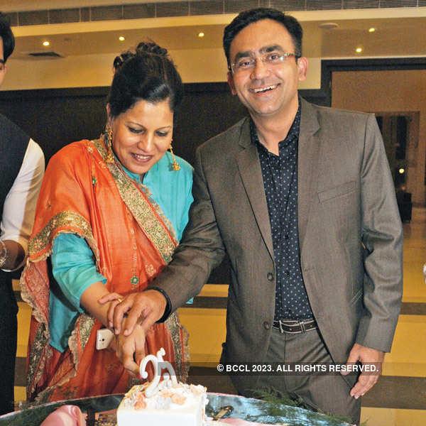 Saba Karim's 25th wedding anniversary