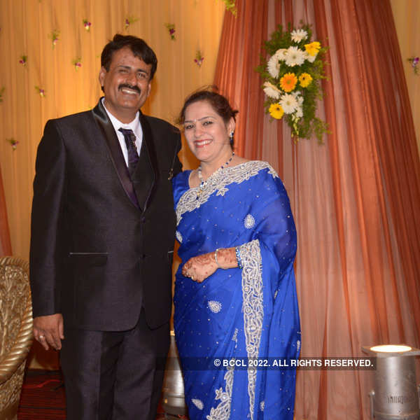 Sumit-Toshi Motwani's wedding reception