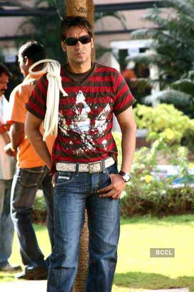 Ajay's comic side