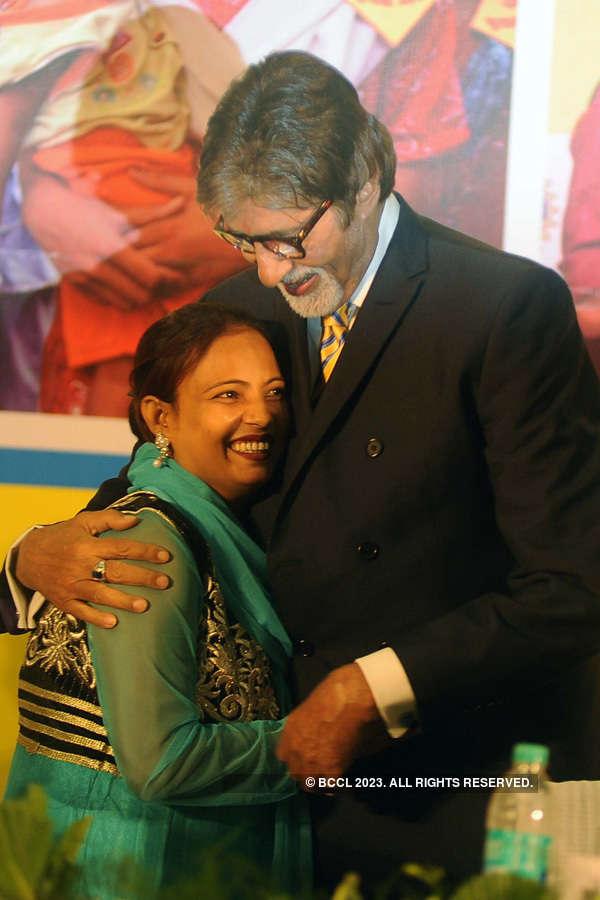 Amitabh at UNICEF event