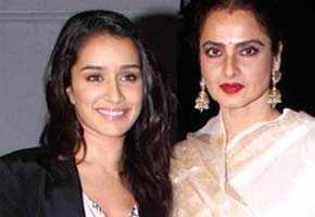 Rekha compliments Shraddha Kapoor