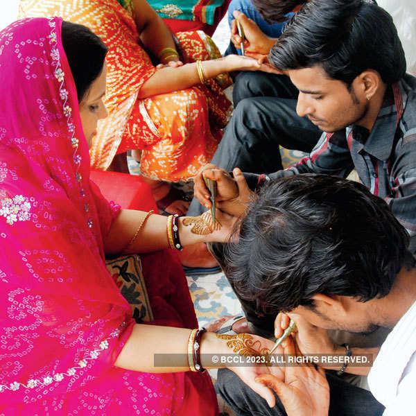 Teej celebrations in Jaipur