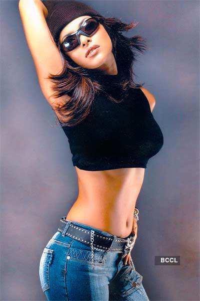 Priyanka in black