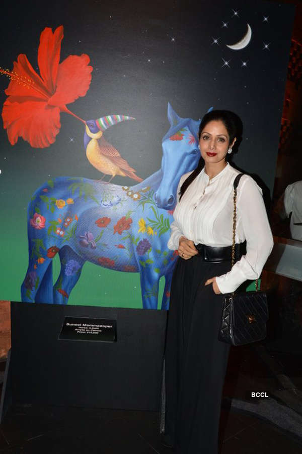 Sridevi at Gallerie Angel Arts