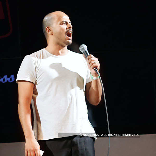 Stand-up comedy at Manhattan