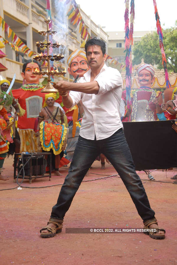 Arjun shoots for Abhimanyu