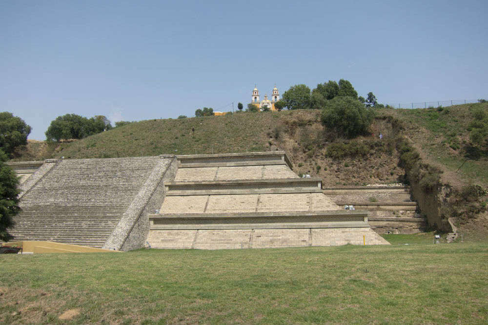 Great Pyramid of Cholula in Mexico | Times of India Travel