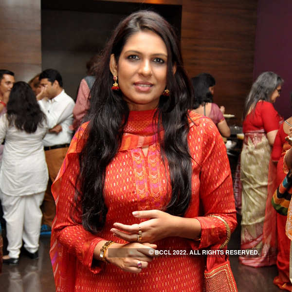 Tollywood celebs at an art festival