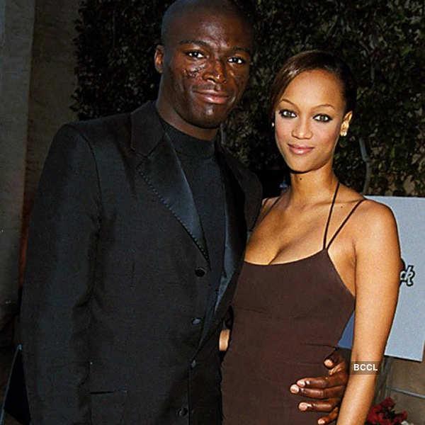 Seal and Tyra Banks