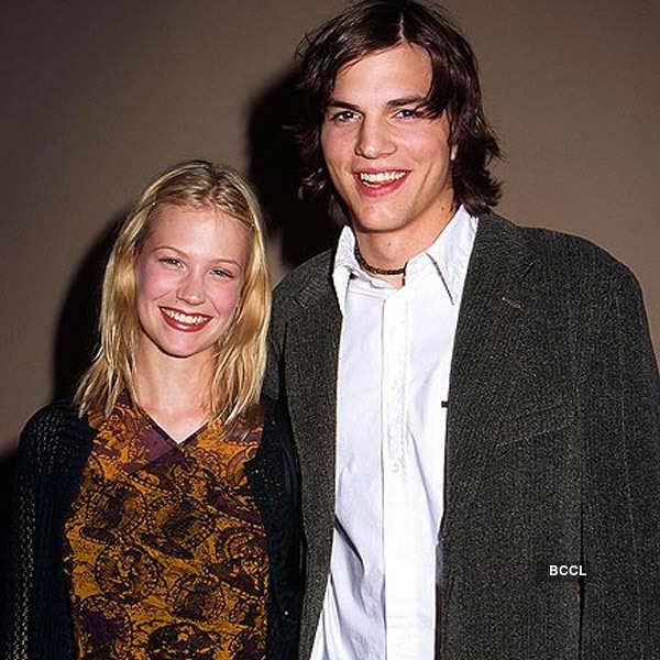 Ashton Kutcher & January Jones