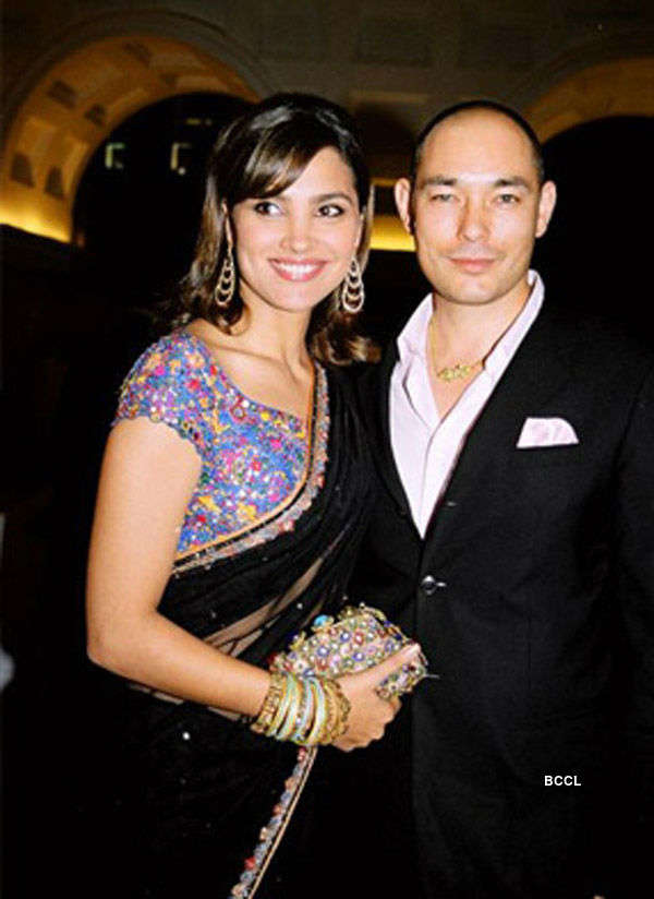 Lara Dutta and Kelly Dorjee