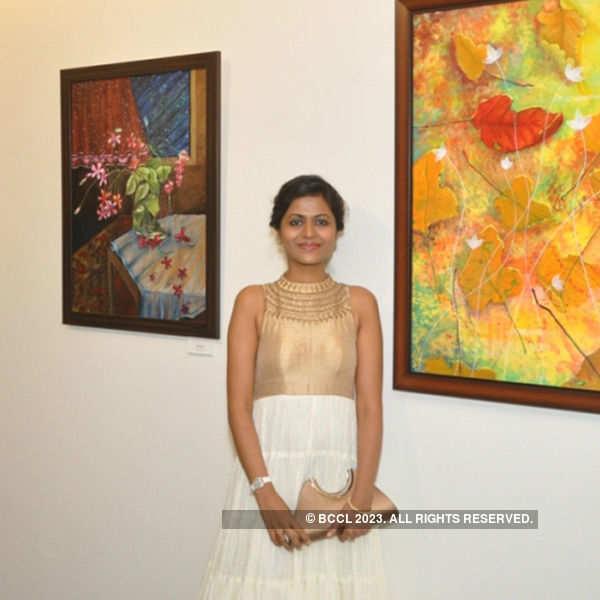 Poorva Nimkar's exhibition in Vadodara