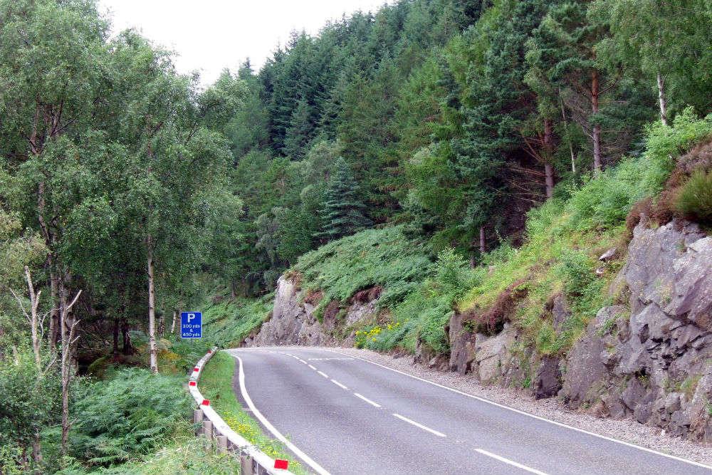Driving around Scotland's Western Highlands
