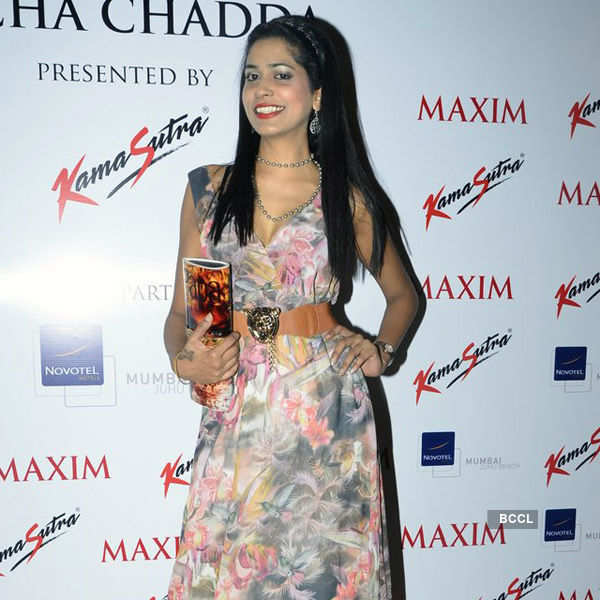 Richa unveils Maxim's latest issue