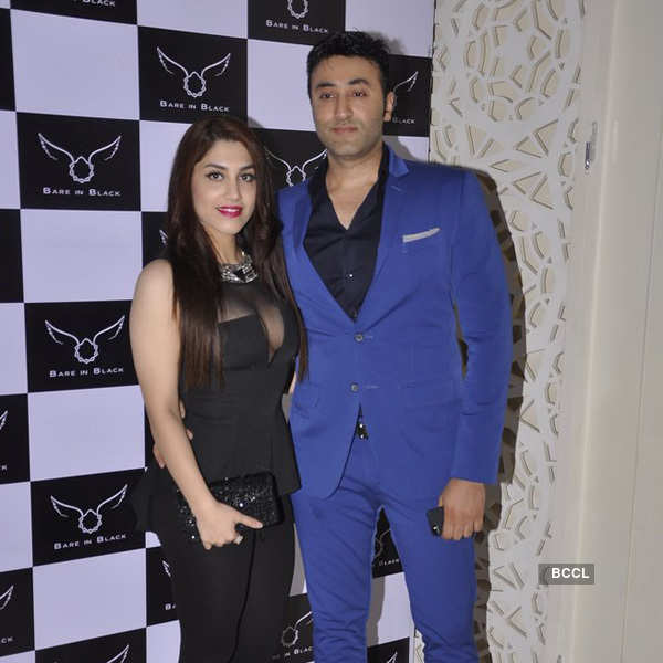 Celebs at Bare in Black event