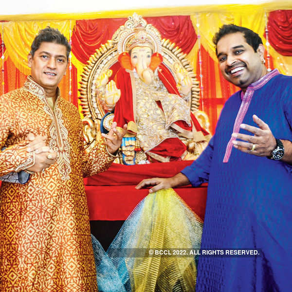 Creating trendy clothes for Bappa