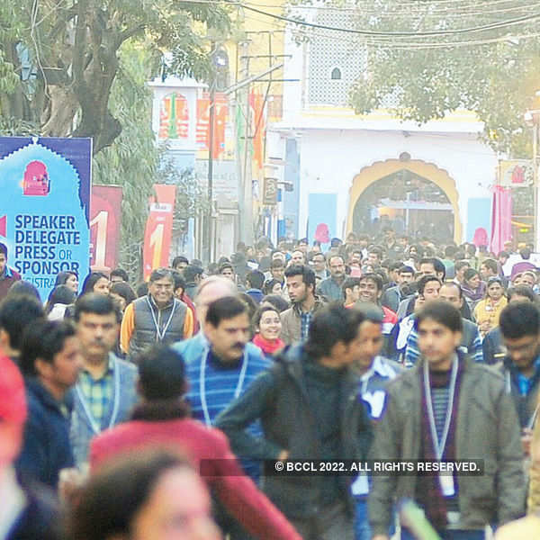 All gear up for Jaipur Literature Festival