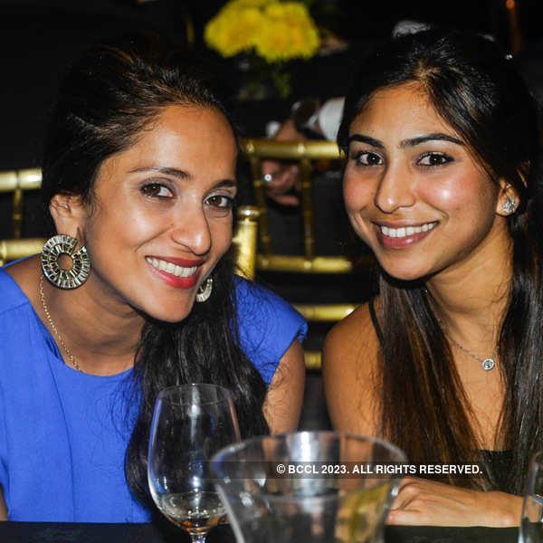 Dinner hosted by Rashmi Uday Singh